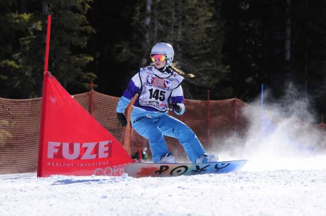 SHS Junior Allie Moore Heads to Nationals for Snowboarding