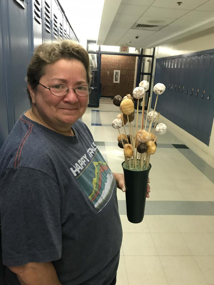 During the 2016-17 school year, Miss Judy made Friday mornings even sweeter with her