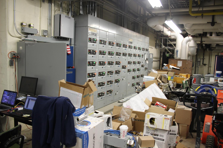View inside SHS boiler room