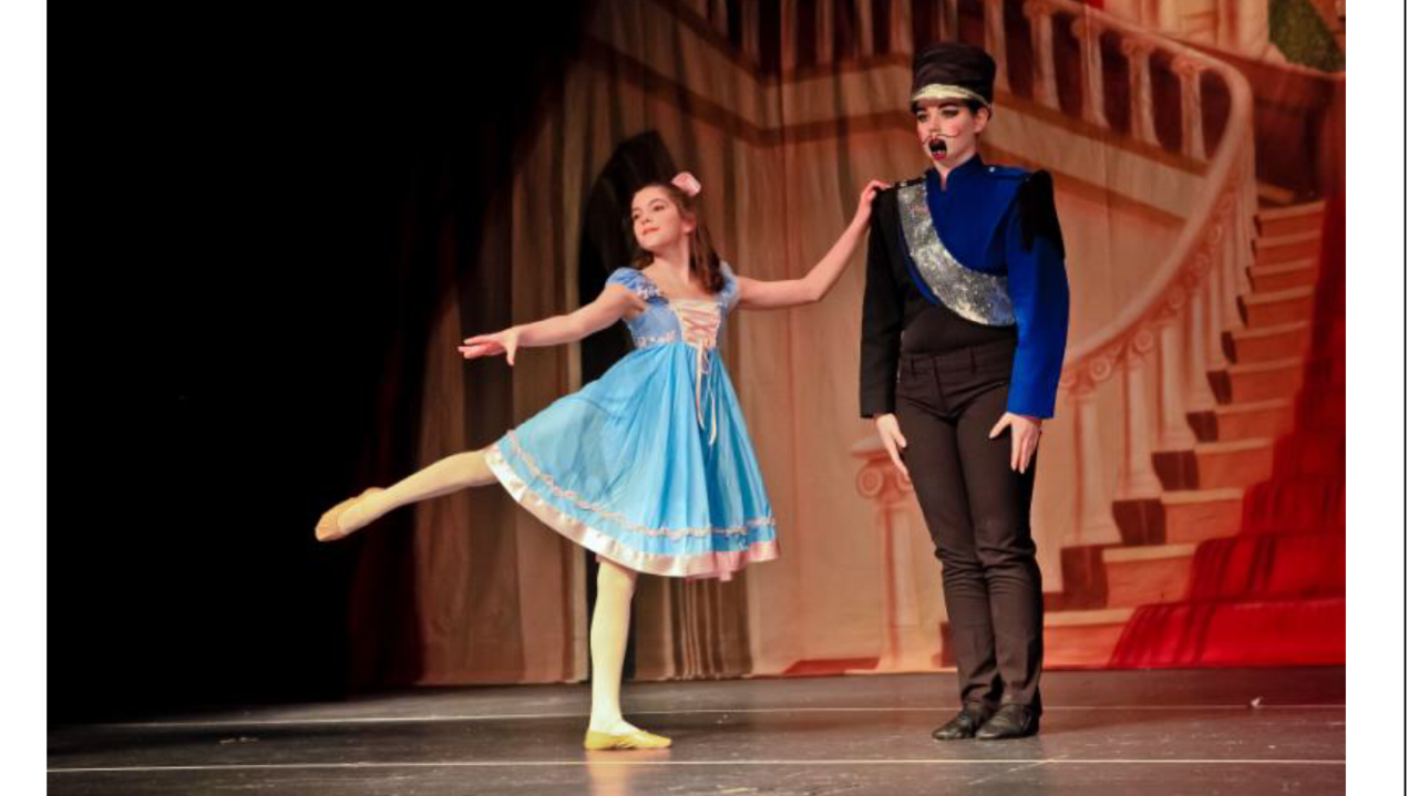 Emily O'Connor dancing in the Duvual Dance Nutcracker  in 2014 at Scituate High School.  Photo Courtesy of Emily O'Connor.