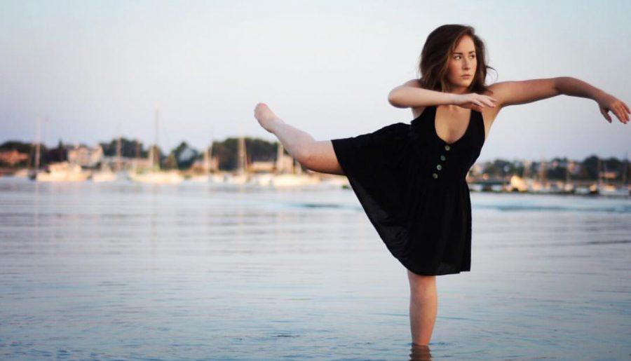 Sophia+Ferrera+posing+for+a+photo+in+Scituate+Harbor.+Photo+Courtesy+of+Sophia+Ferrera.