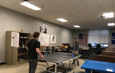 SHS Seniors Enjoy Their Newly Updated Space