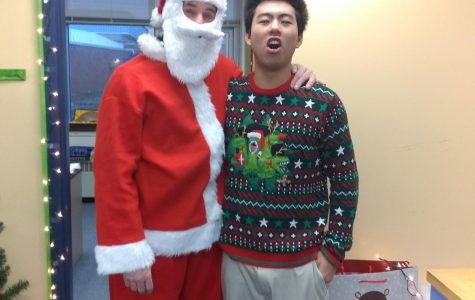 Ho, Ho, Ho! Santa Visits SHS