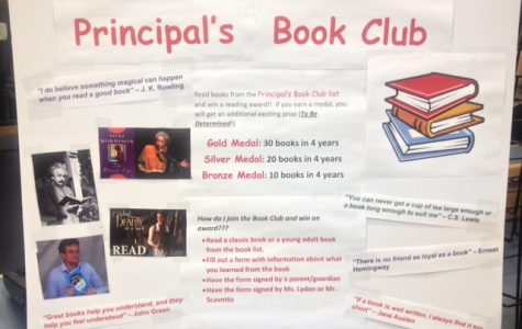 Principal's Book Club Launched at SHS