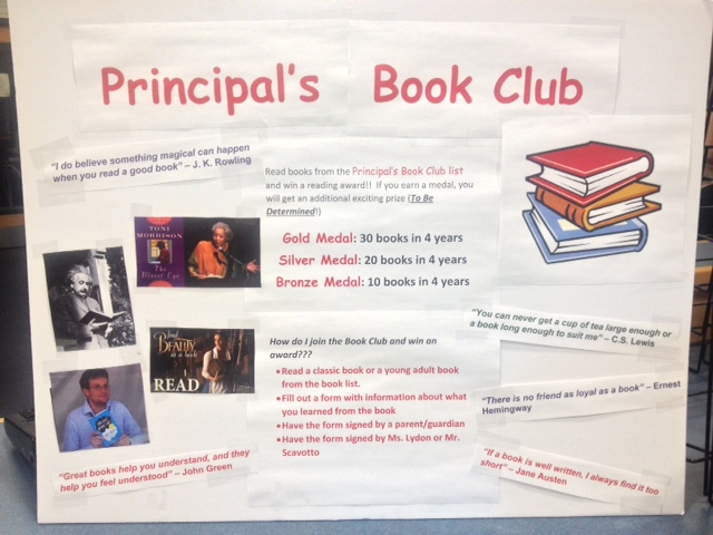 The+Principal%27s+Book+Club+promotes+reading+outside+of+school