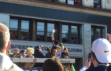 Air Was Thick with Celebration During Pats Parade