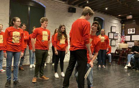 SHS Drama Club Performs at Historic Adams Estate