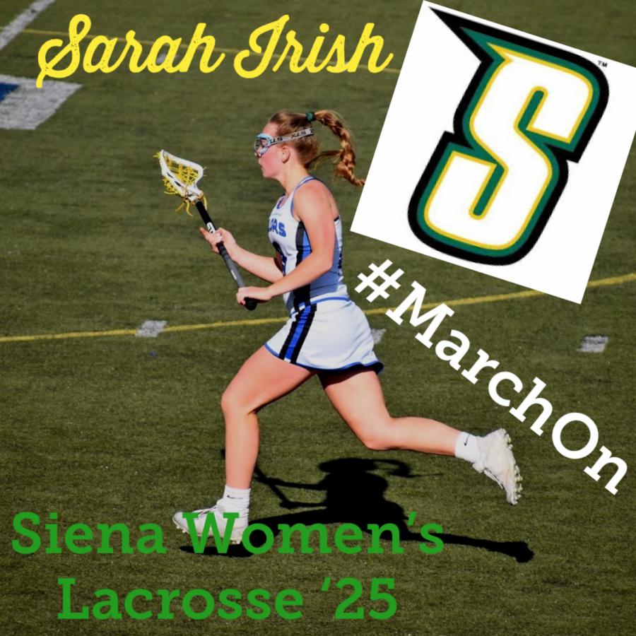 SHS junior Sarah Irish committed to Siena College
