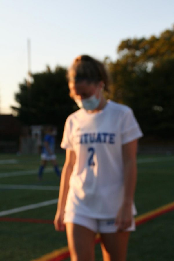 SHS Girls Varsity Soccer player, Nora Dawley