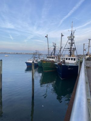 Scituate Harbor is the home port for local lobster boats like Never Enough