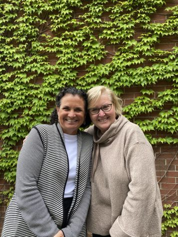 SHS guidance counselors Sharon Mohr (left) and Marlene Hoffman will be missed at SHS