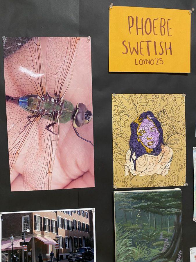 SHS seniors created boards to showcase their work