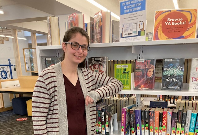 Rachel Stone is the new teen librarian for Scituate Town Library