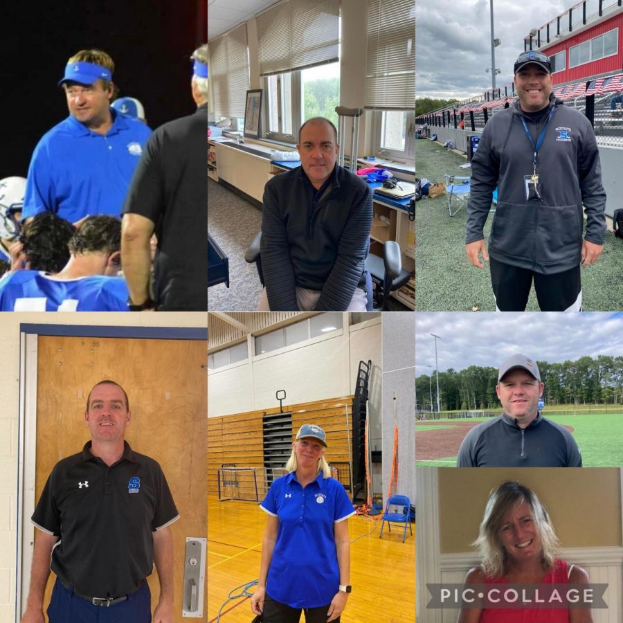 Pictured from left to right: (top) Herb Devine, Ross Maki, Andrew Barlow, William Seward, Jen Harris, Rob Williams, Kathleen McCarthy