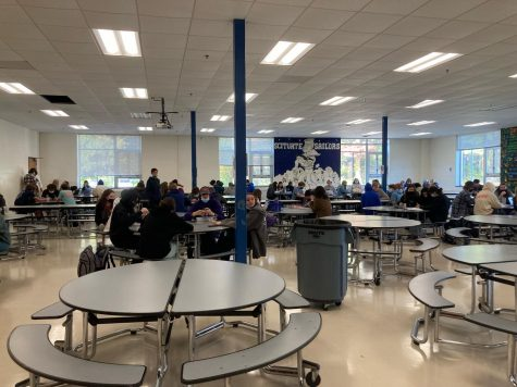The cafeteria tables are back!