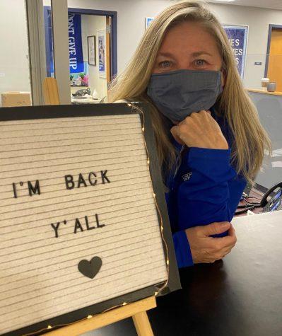 Kathleen Ward is back!